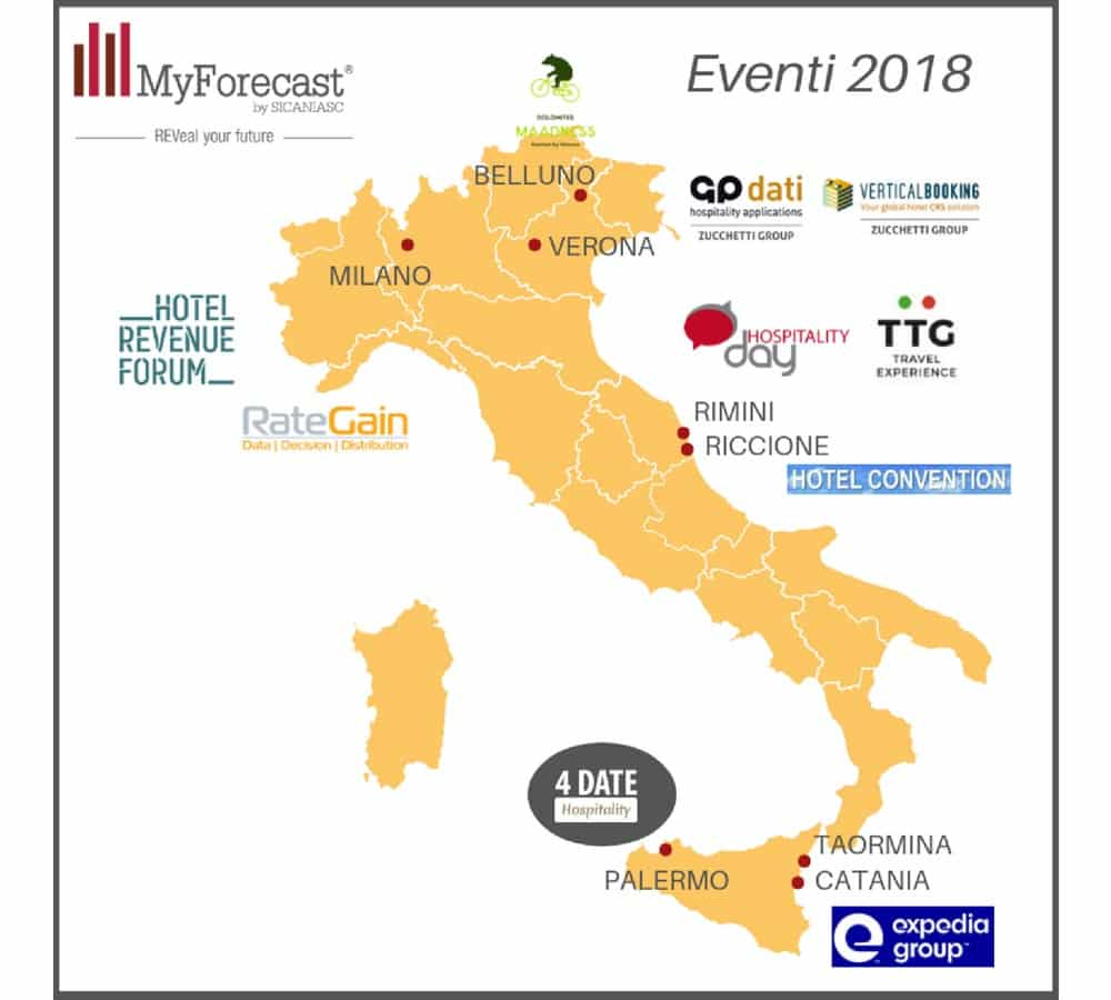 Read more about the article MyForecast Eventi 2018
