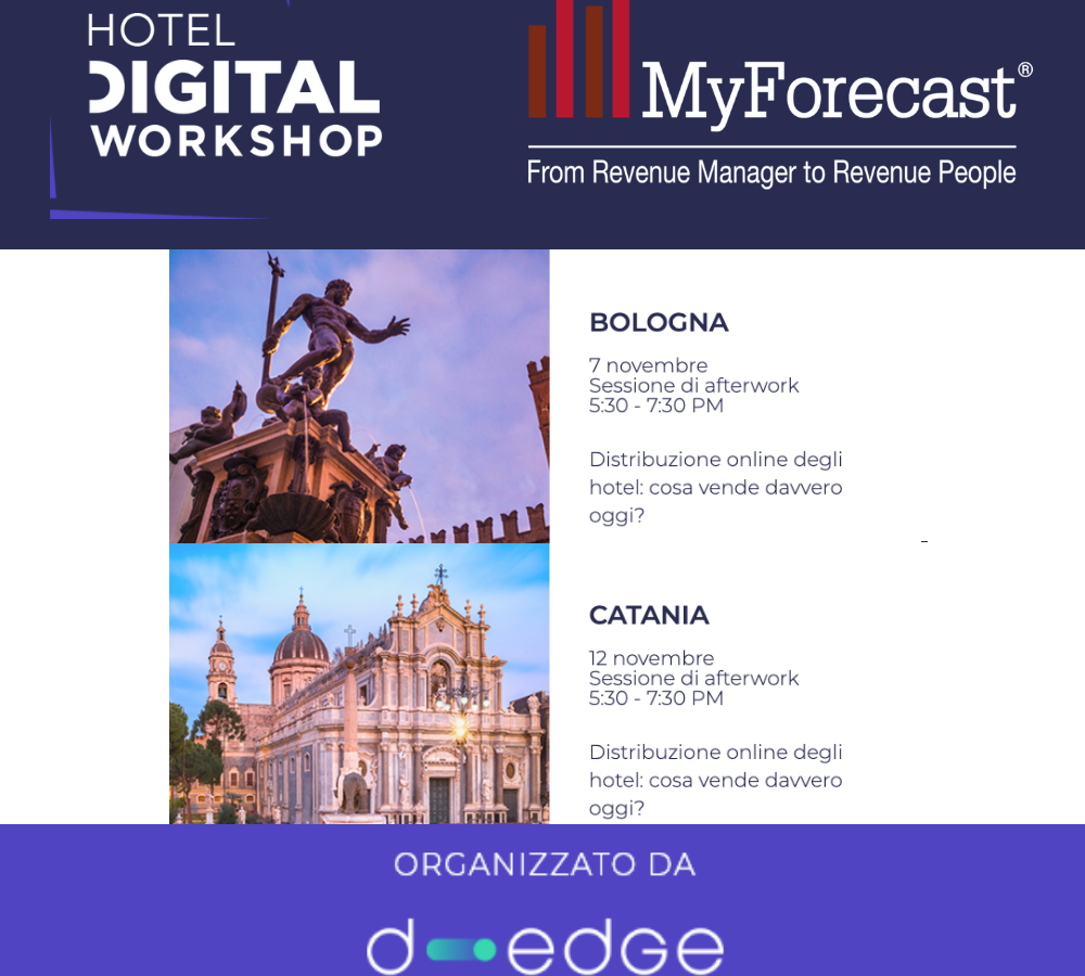 Eventi MyForecast e D-Edge